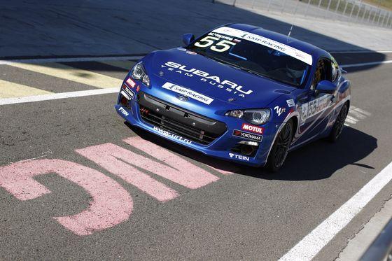 Subaru BRZ в 5-м этапе Российских кольцевых гонок